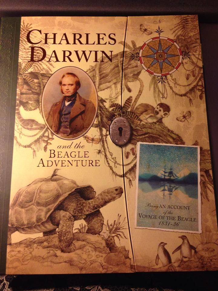 Great book for kids on Charles Darwin.