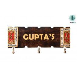 Customizable Dhokra Name Plate