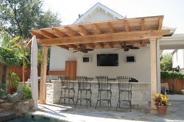 outside bar ideas | Patio Outdoor Bar Design Ideas, Pictures, Remodel, and Decor – page 3