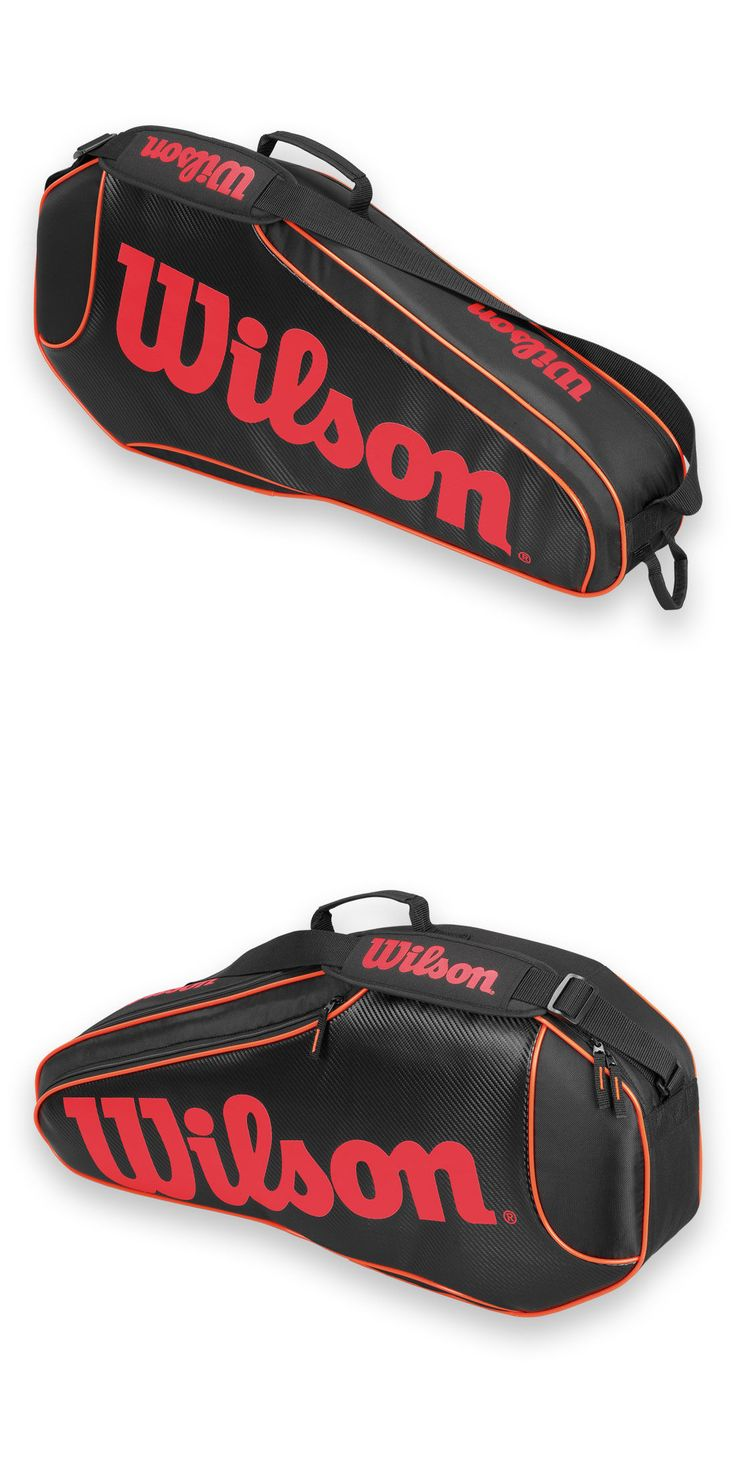 Bags 20869: *New* Wilson Burn Team 3 Pack Tennis Bag! -> BUY IT NOW ONLY: $34.95 on eBay!