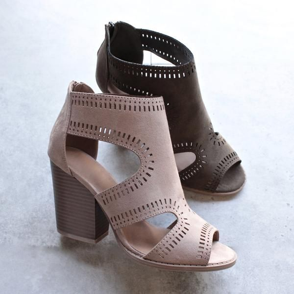 talk around town perforated booties - more colors - shophearts - 4