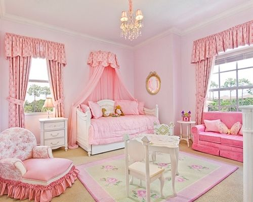 Princess Bedroom -  Home Decor, I can see Melissa liking this one!