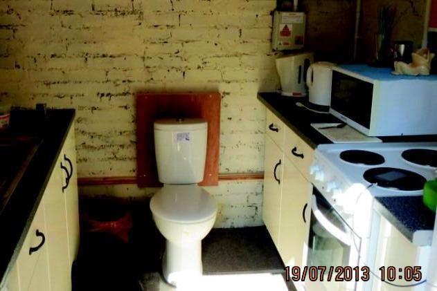 kitchen toilet