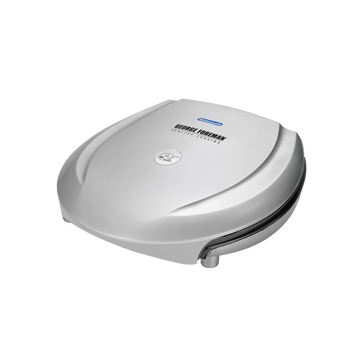 George Foreman 6-Serving Classic Plate Grill, Grey