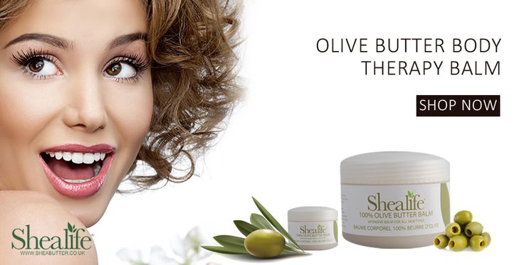 Get Excellent Moisturising for Normal to Very Dry Skin! Buy 100% Organic Olive Butter Body Therapy Balm