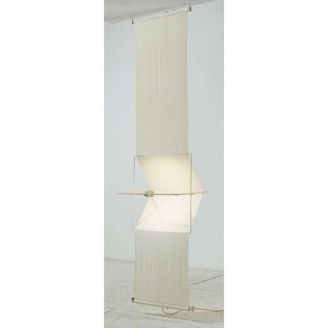 "Image of Rare ""Quinta"" Lamp and Room Divider by Silvio Coppola, Artemide, Italy, 1970s"