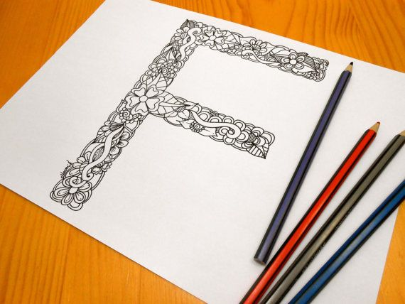 Colouring Pages Alphabet Printable : Letter q colouring pages