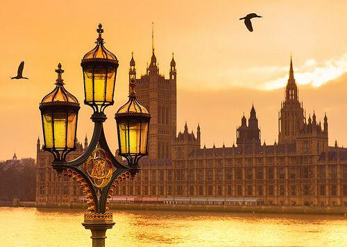 lanterns, london