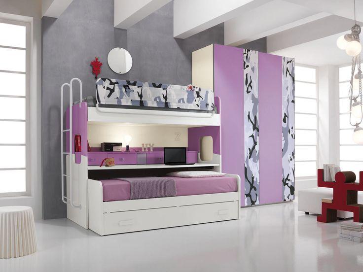 the bedrooms bright, colorful and safe for kids http://www.spar.it/sp/it/arredamento/proposta-one-406.3sp?cts=camerette_one?utm_source=pinterest.com&utm_medium=post&utm_content=camerette-one&utm_campaign=pin-camerette