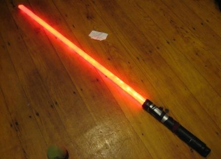 Make Your Own Lightsaber  Here is a lightsaber perfect for kids and adults. Its one even beginners can make too.