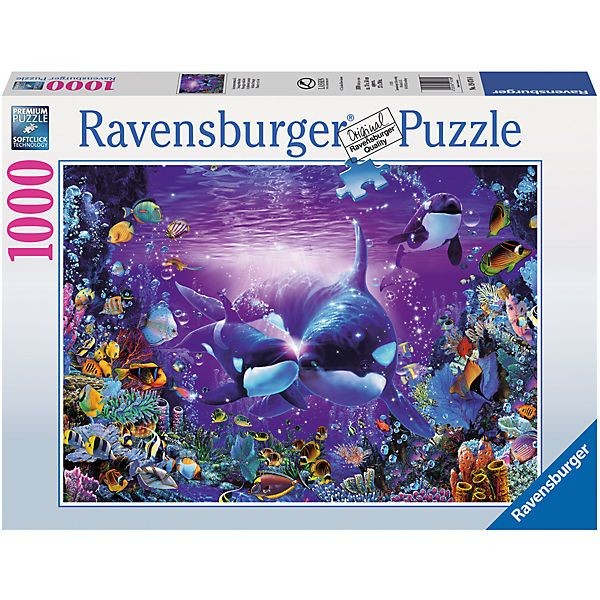 Puzzle 1000 Teile 70x50 Cm Lassen Unterwasserromantik Ravensburger Puzzle Puzzleteil Ravensburger Puzzle