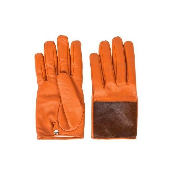 Causse Gantier Orange Gloves