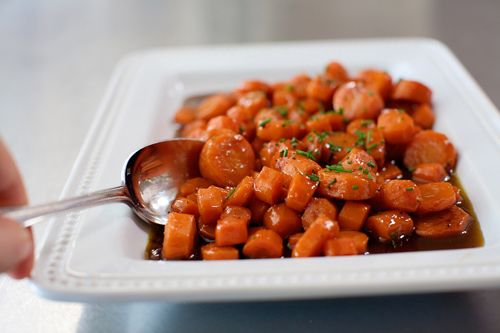 Whiskey-Glazed Carrots | Recipe | Carrots, Whiskey and The Pioneer ...