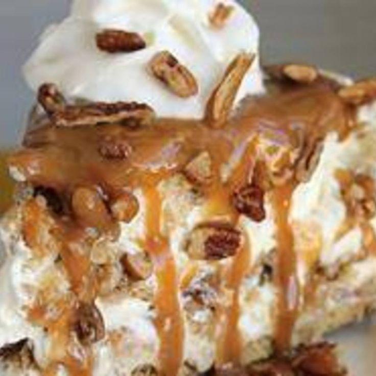 Caramel Pecan Delight Pie
