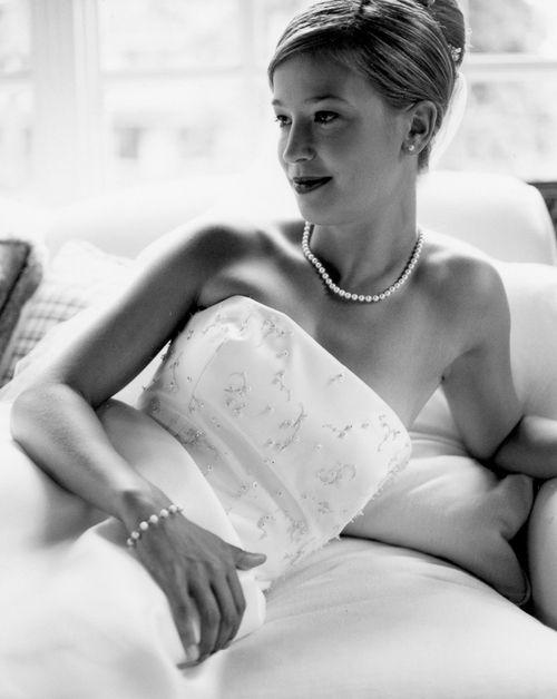 Beautiful black& white bride.