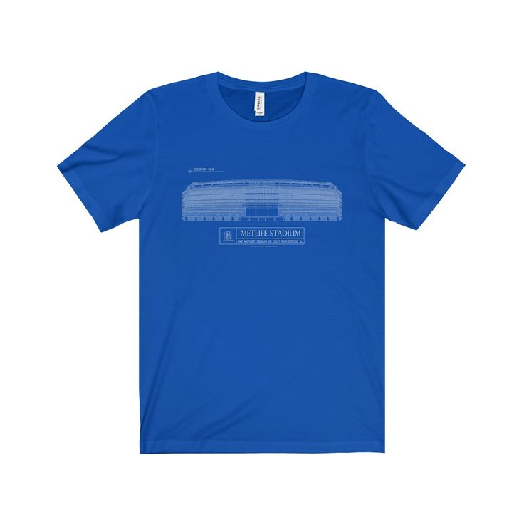 Metlife Stadium Jersey Short Sleeve Tee