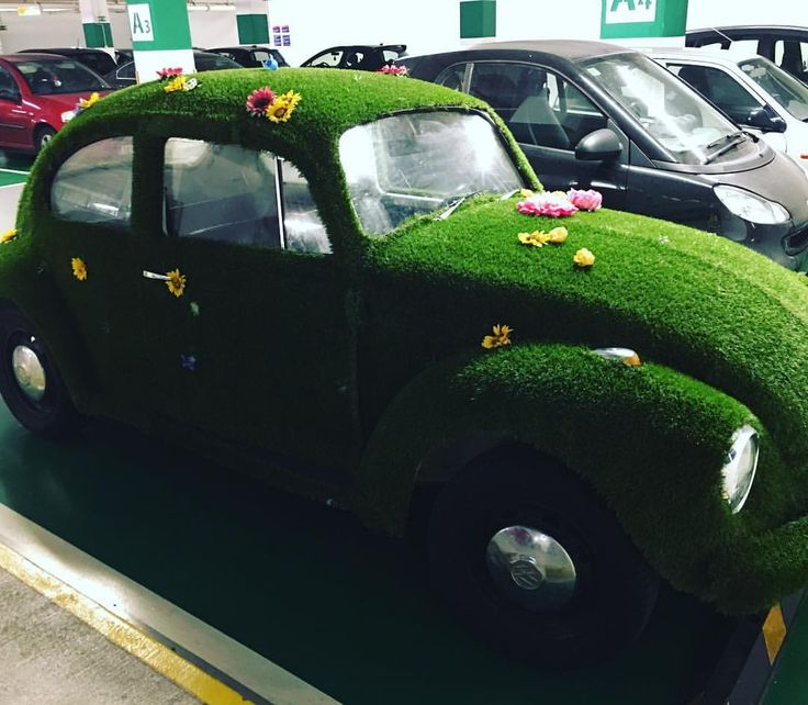 "39 Likes, 2 Comments - Beauty-Full Lifestyle (@beauty.full.lifestyle) on Instagram: ""Found this peculiar garden-like car inside the @mcarthurglenathens outlet village parking space!…"""