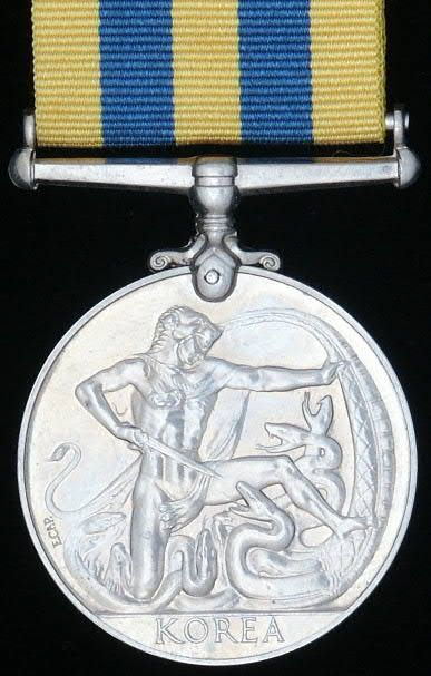 British Queen's Korea Medal 1950 - 1953 & UN Korea Medal. Korean War