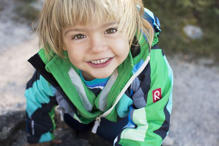 Reima® Kiddo Syenite overalls, Kuma fleece, Kuper shirt
