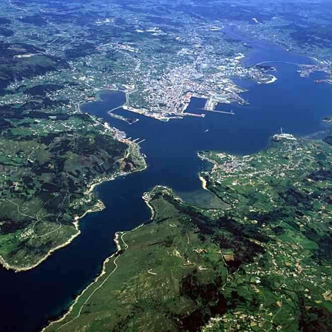 Puerto y Ría de Ferrol
