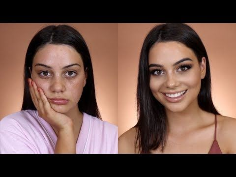 (201) GRWM: MY GO TO CLUBBING MAKEUP LOOK! - YouTube