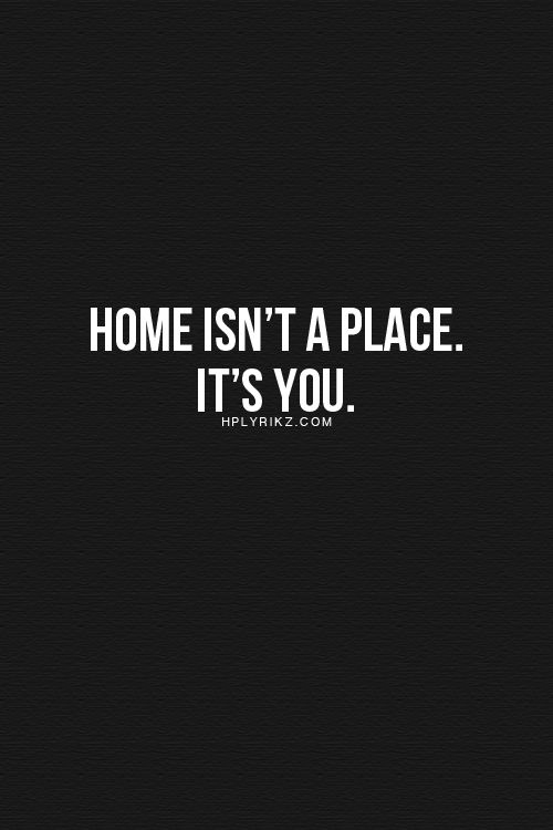 Words, quote, home
