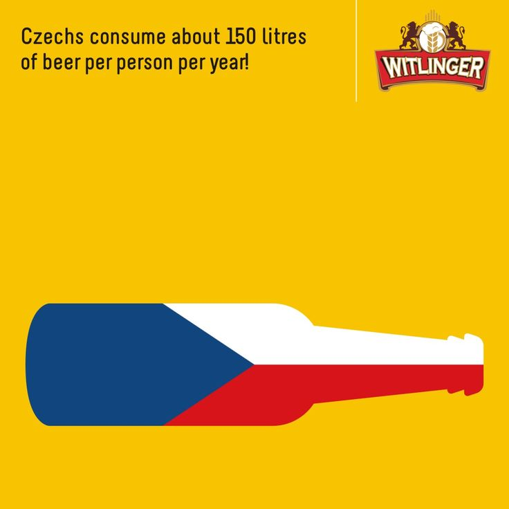 Wow! Some guys (and gals) have all the luck! Getting to the Czech mark of 150 litres may be a tough task but getting your hands on some of the finest wheat ale isn't. Check out Witlinger today. Or should we say Czech it out?