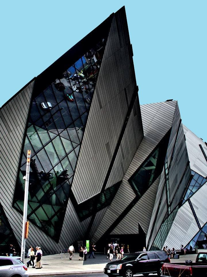 Daniel libeskind royal ontario museum toronto the for Daniel libeskind architectural style