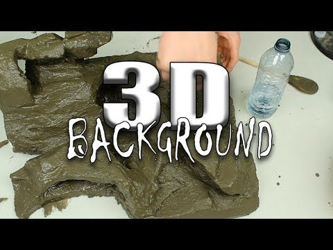 HOW TO: Build an aquarium background - YouTube