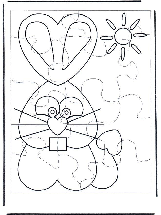 puzzel-konijn