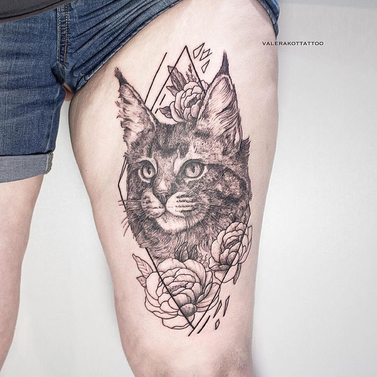 17 best ideas about geometric cat tattoo on pinterest for Tattoo removal maine