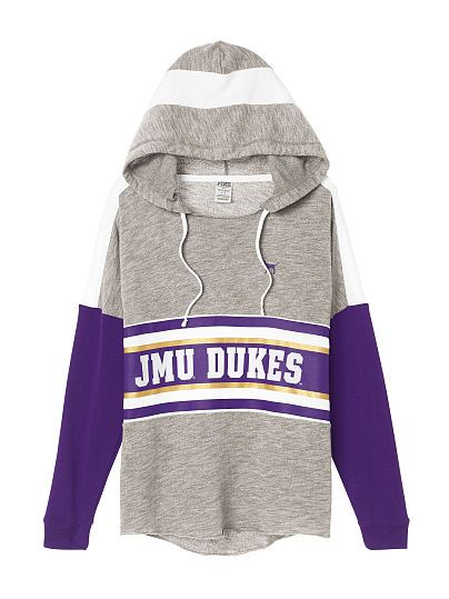 James Madison University Varsity Pullover Hoodie - PINK - Victoria's Secret