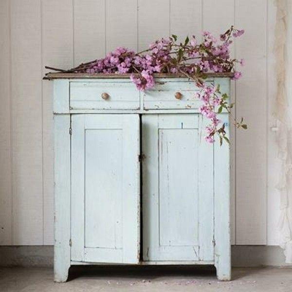 Vintage möbel weiss grün  Die besten 25+ Kommode weiss vintage Ideen auf Pinterest ...