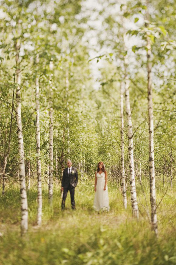 Finnish forest... wedding pics <3