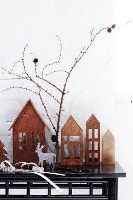Copper * Metal * Small * Houses