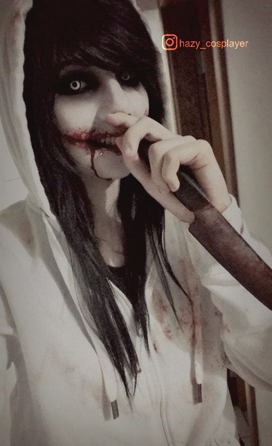 Jeff the killer cosplay :)