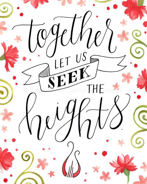 Together Let us Seek the Heights: 2015