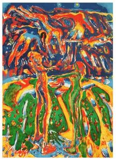 Frans Widerberg - Den grønnkledde og Troll (Peer Gynt)   kr 24 000,-