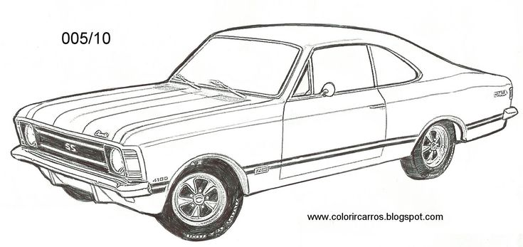 Desenhos para colorir - Desenhos para colorir antigos