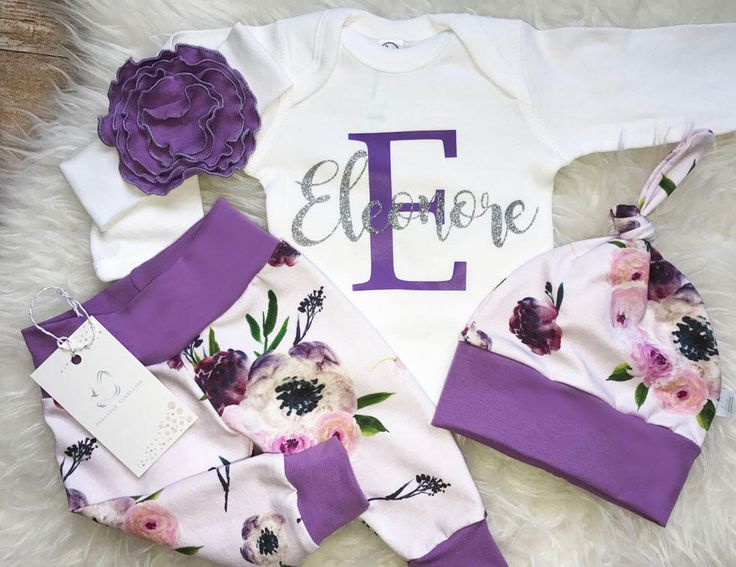 Best 25 newborn girl gifts ideas on pinterest baby outfits baby girl coming home outfit newborn girl outfit personalized baby girl outfit photo prop floral outfit baby shower gift baby gift purple negle Images