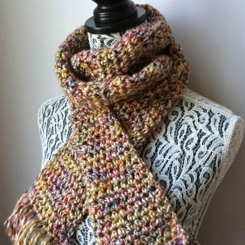 Mejores 474 imágenes de Scarves To Crochet en Pinterest   Ganchillo ...