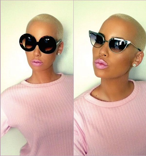 Amber Rose, Rose and Ono sunglasses