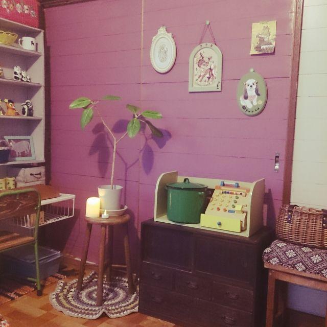 古い家 ミシン部屋 昭和レトロ 和洋折衷 難しい 編み物好き などの