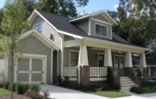 Craftsman bungalow house plans historic craftsman - What is a bungalow house ...