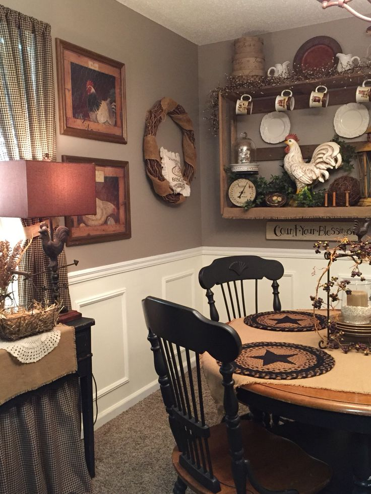 1530 best images about primitive country decor on for Country living kitchen ideas
