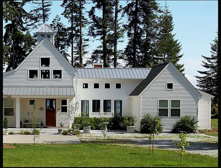944 best images about metal roof metal tile roofing on for Farmhouse exterior