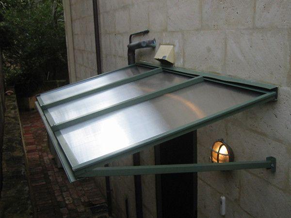Polycarbonate Canopy Outdoor Rain Shelter Entrance Plastic