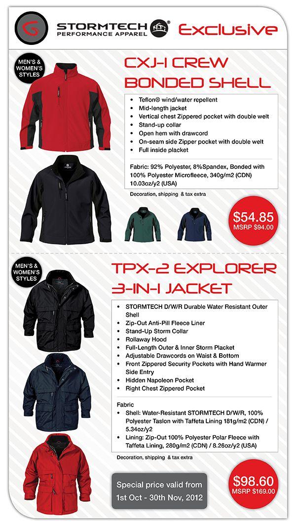 Stormtech Jacket Exclusive