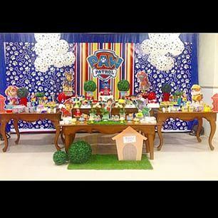 festa patrulha canina decoração - Pesquisa Google