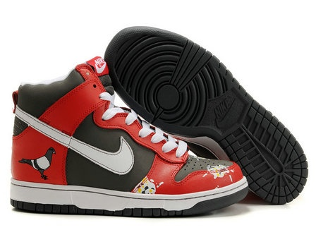 check out 5a2c5 2d340 Nike Dunk High Pooped on By Pigeons Customs Shoes   Nike Dunk High Shoes   Nike  dunks, Nike, Sneakers nike